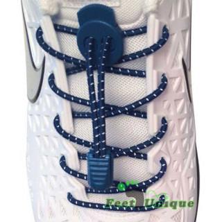 Striper, Lock, marineblå skolisser