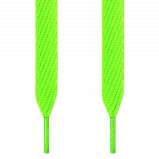 Ekstra brede, neongrønne skolisser