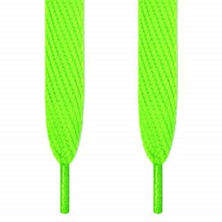 Superbrede, neongrønne skolisser
