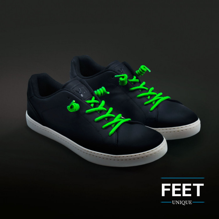 Krøllete Neongrønne Skolisser