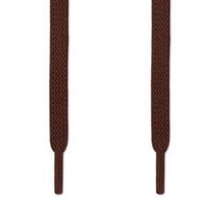 Elastiske Flate Mørkebrun Skolisser (uten knyting)