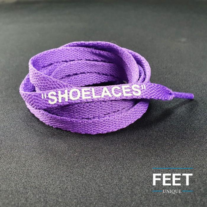 Purple OFF-WHITE Skolisser