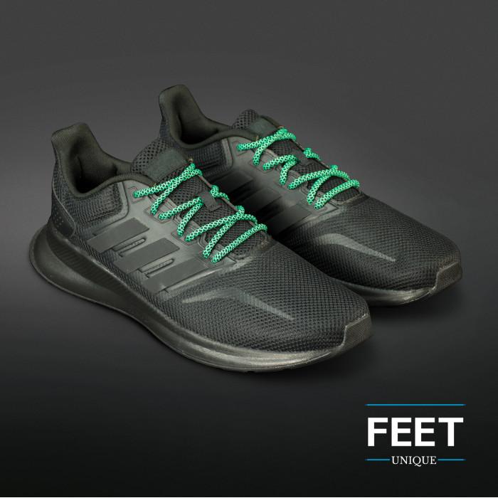 Adidas Yeezy - Skolisser Svarte & Grønne