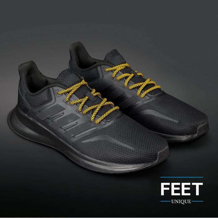 Adidas Yeezy - Skolisser Svarte & Gule