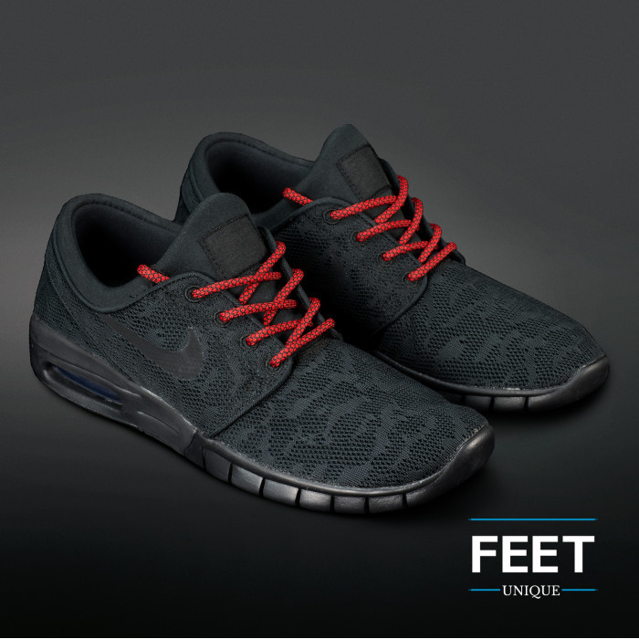 Adidas Yeezy - Skolisser Svarte & Røde